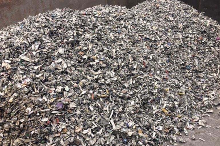 Aluminium grondstoffen