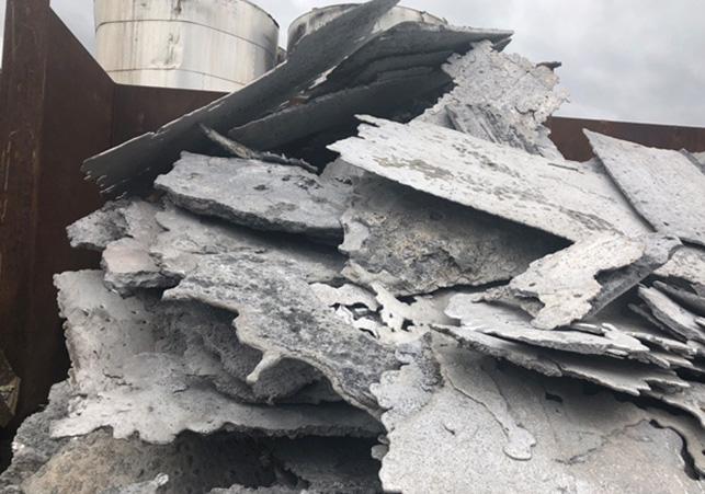 Aluminium-Ausläufer
